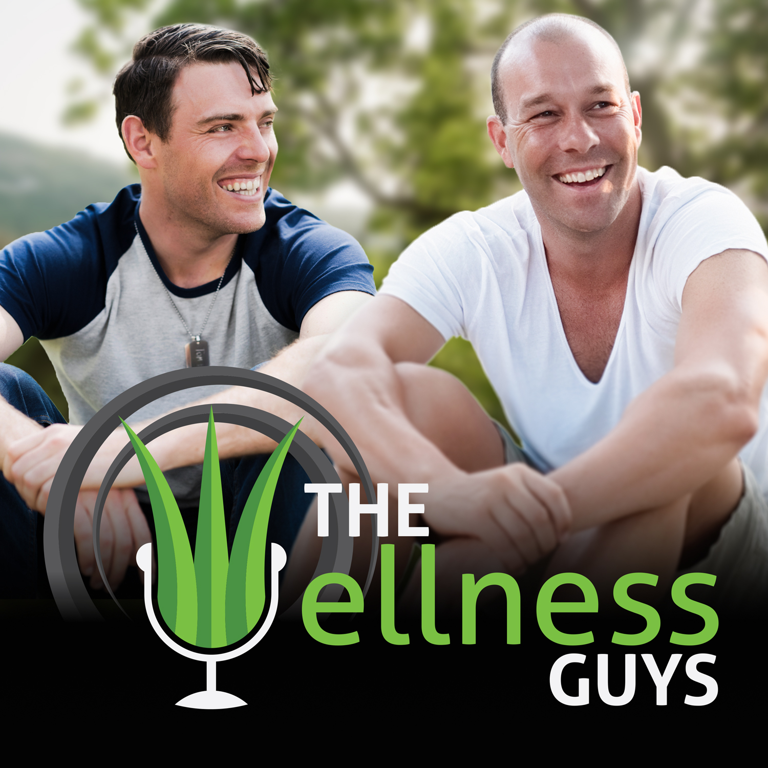 The Wellness Guys Show Logo
