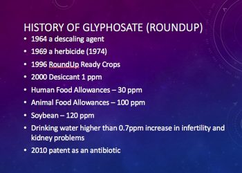 UC 296: Glyphosate and Roundup causing a train wreck with our health with Cyndi O'Meara