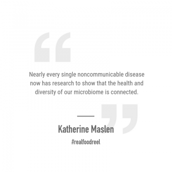RFR 235: Chronic Disease, Infertility & Microbiome Health with Katherine Maslen