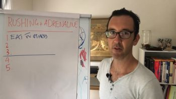 YEL 087: 5 tips for when your Rushing & on Adrenaline