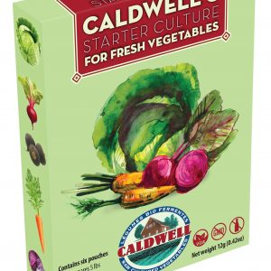 Caldwell's Vegetable Starter Culture (100% Dairy Free)