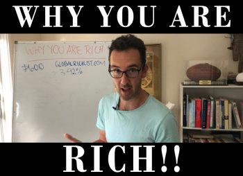 YEL 117: Why you are rich – even if you're on the Dole