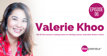 HP 96: Australian Writers' Centre with Valerie Khoo