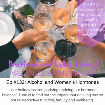 WWR 132: Alcohol & Women's Hormones