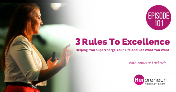 HP 101: 3 Rules To Excellence