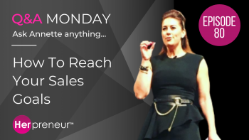 HP 80: How To Reach Your Sales Goals