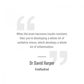 RFR 230: BioDiet, Ketosis & Type 3 Diabetes with Dr David G Harper