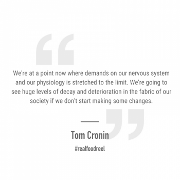 RFR 271: Finding Stillness Amongst the Chaos with Tom Cronin