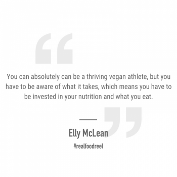 RFR 276: Plant Based Athletes with Elly McLean