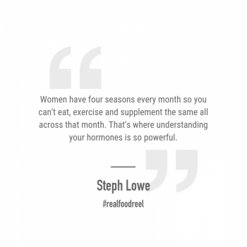RFR 236: Get to Know Your Menstrual Cycle & Create Hormonal Balance with Steph Lowe & Elly McLean