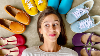 BFM 45: Reviewing Barefoot Shoes with Anya Jensen
